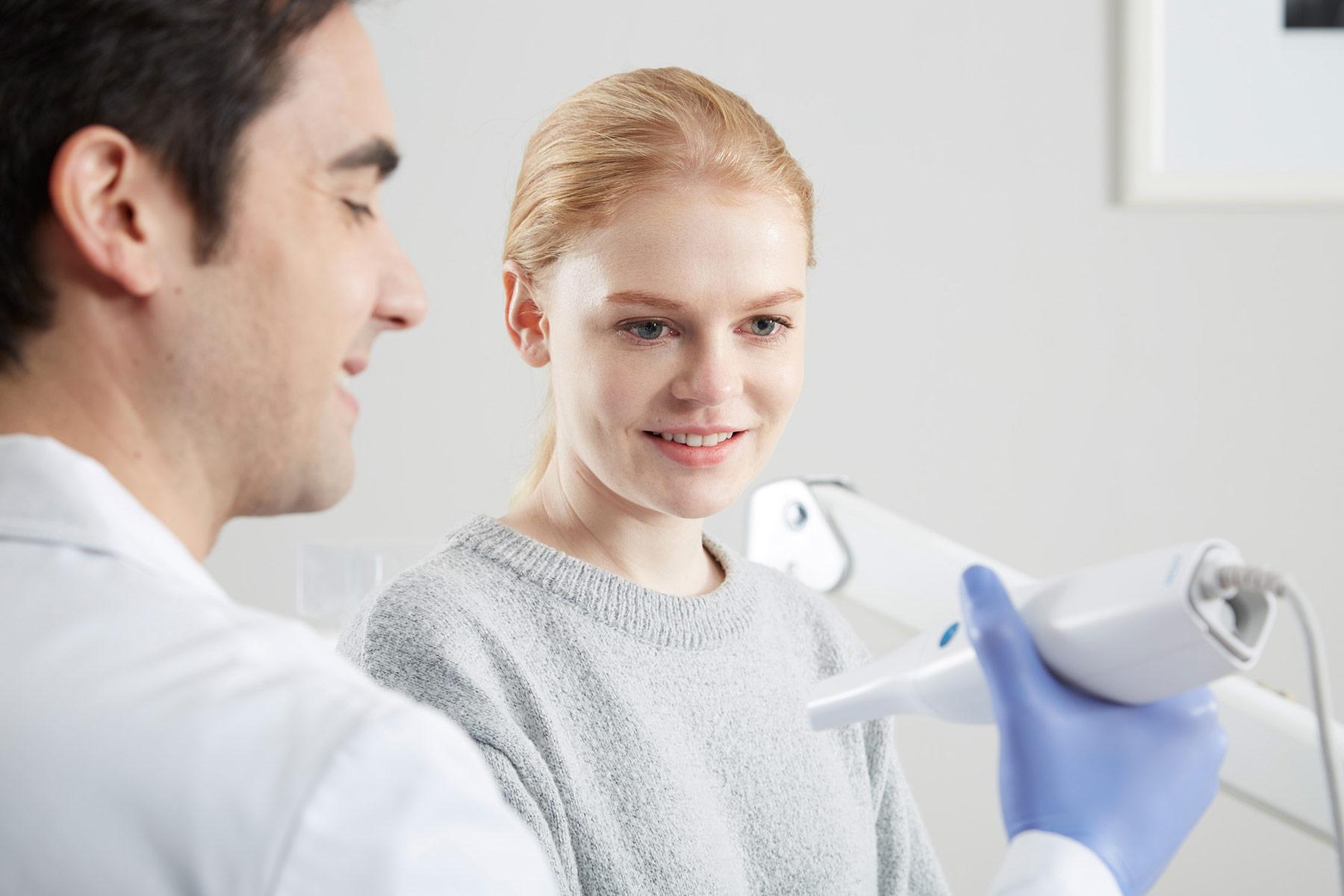 Medit i500 materiel dentisterie numérique Labocast